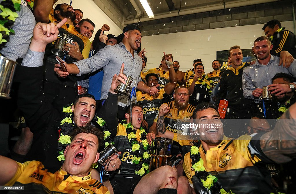Super Rugby Final - Hurricanes v Lions : News Photo
