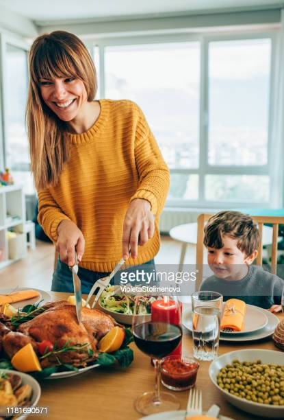 hurry up mom, i'm hungry! - mid adult stock pictures, royalty-free photos & images