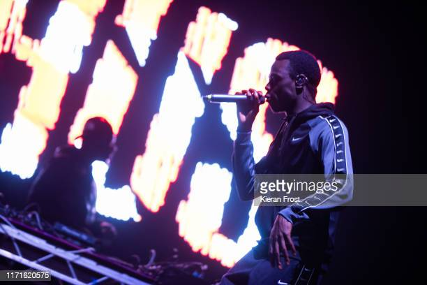 Hus performs on stage during Electric Picnic Music Festival 2019 at on September 1, 2019 in Stradbally, Ireland.