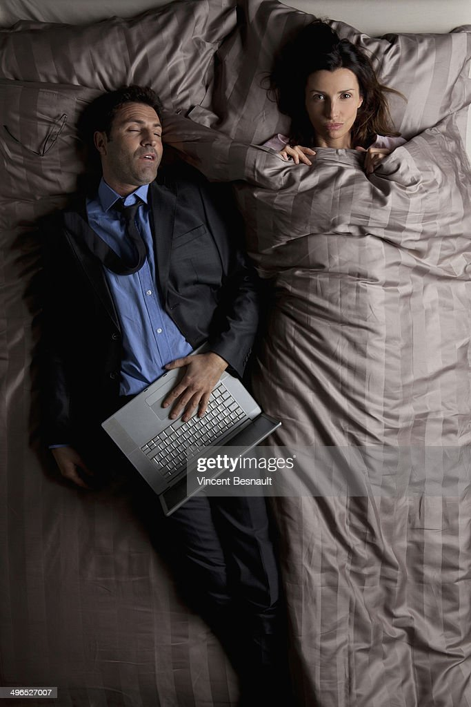 husband wife in bed images