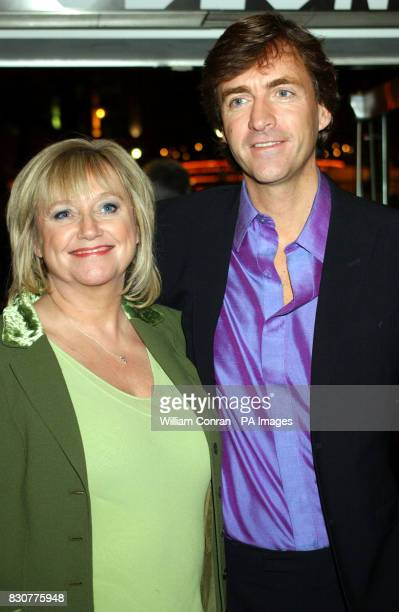 Husband and wife TV presenter's Judy Finnigan and Richard Madeley arrive at the Odeon Leicester Square in London for the world premiere of Lord of...
