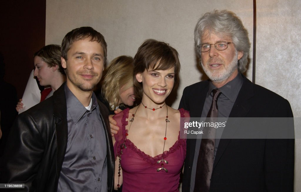 Husband Chad Lowe & Hilary Swank with Director Charles Shyer