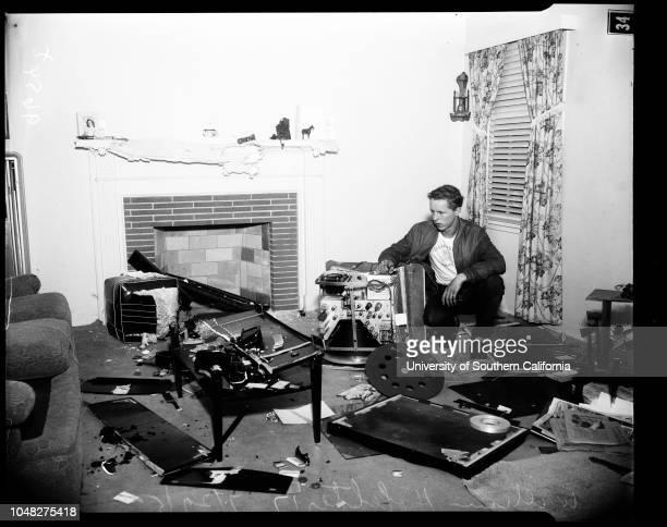 Husband destroyed furniture of estranged wife, 29 July 1952. Mrs Madge Hofelter ;William Hofelter -- 17 years ;Paul G Hofelter -- 48 years ;H.N...