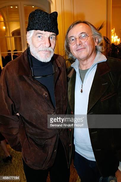 Husband of Loulou de la Falaise, Thadee Klossowski de Rola and galerist Pierre Passebon attend the 'Loulou de la Falaise' book signing. Held at the...