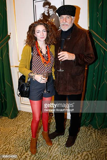 Husband of Loulou de la Falaise Thadee Klossowski de Rola and their daughter Anna Klossowski de Rola attend the 'Loulou de la Falaise' book signing...