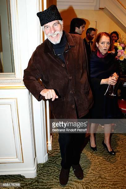 Husband of Loulou de la Falaise, Thadee Klossowski de Rola attends the 'Loulou de la Falaise' book signing. Held at the Fondation 'Pierre Berge -...