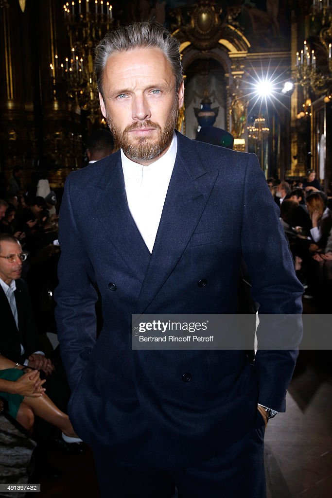 Husband of Stella, Alasdhair Willis attends the Stella McCartney show as part of the Paris Fashion Week Womenswear Spring/Summer 2016. Held at Opera Garnier on October 5, 2015 in Paris, France.