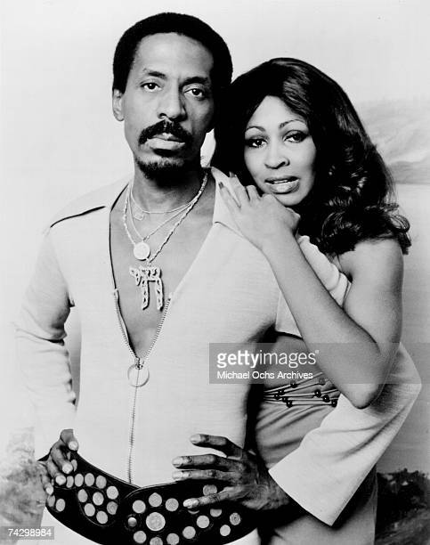 Husbandandwife RB duo Ike Tina Turner pose for a portrait in circa 1972