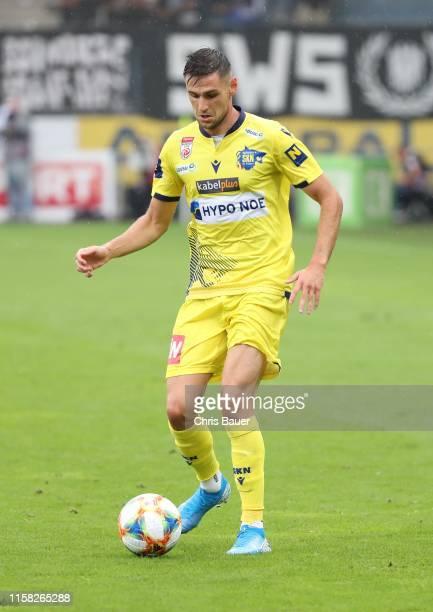 July 28:Husein Balic of SKN St. Poelten during the tipico Bundesliga match between SK Sturm Graz and Spusu SKN St. Poelten at Merkur Arena on July...
