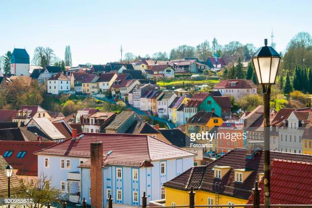 häusern - thuringia stock pictures, royalty-free photos & images
