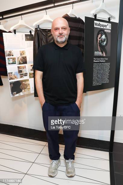 Hussein Chalayan attends the Chalayan x Wallpaper October Issue Launch Party during London Fashion Week September 2019 on September 15, 2019 in...