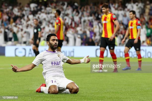 5c55c794ad Hussein El Shahat of Al Ain celebrates after scoring his team s second goal  during the FIFA