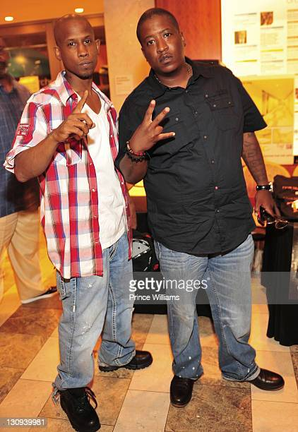 Hussein Fatal and EDIMean attends Tupac's 40th Birthday Celebration at the Atlanta Symphony Hall on June 16 2011 in Atlanta Georgia