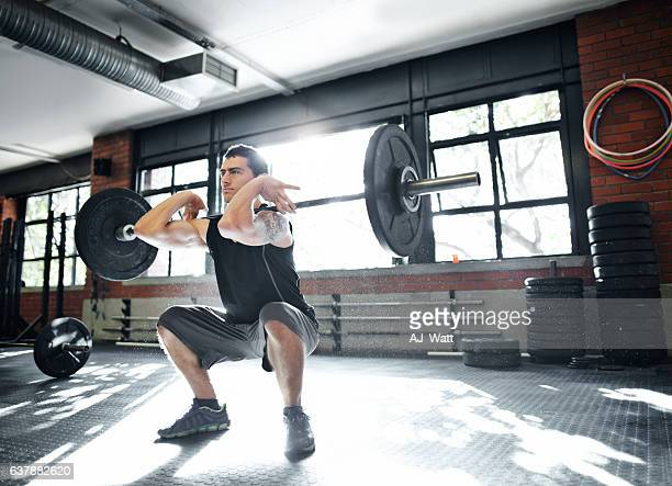 hustle for that muscle - barbell stock pictures, royalty-free photos & images
