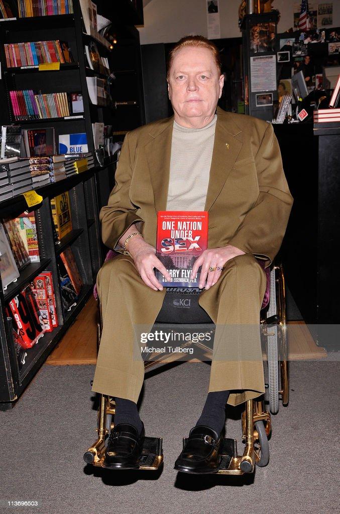 Larry flynt publisher of hustler