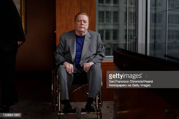 Hustler publisher, Larry Flynt sits for a portrait at the Four Seasons Hotel on Friday May 13, 2011 in San Francisco, Calif.