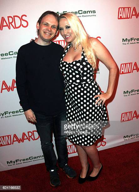 Huston Huddleston and Alana Evans at the 2017 AVN Awards Nomination Party held at Avalon on November 17 2016 in Hollywood California