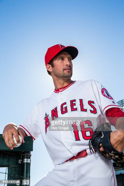 Huston Street of the Los Angeles Angels of Anaheim poses for a portrait during Angels Photo Day at Tempe Diablo Stadium on February 21 2017 in Tempe...