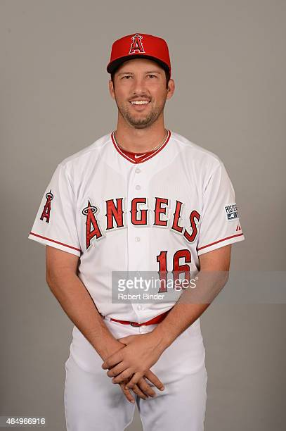 Huston Street of the Los Angeles Angels poses during Photo Day on Saturday February 28 2015 at Tempe Diablo Stadium in Tempe Arizona