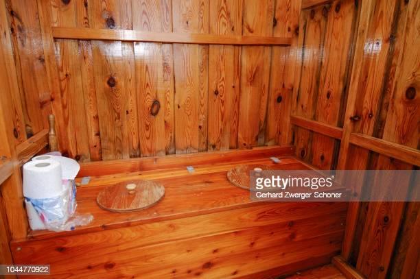 WC hut, dunny, Lofoten, Norway