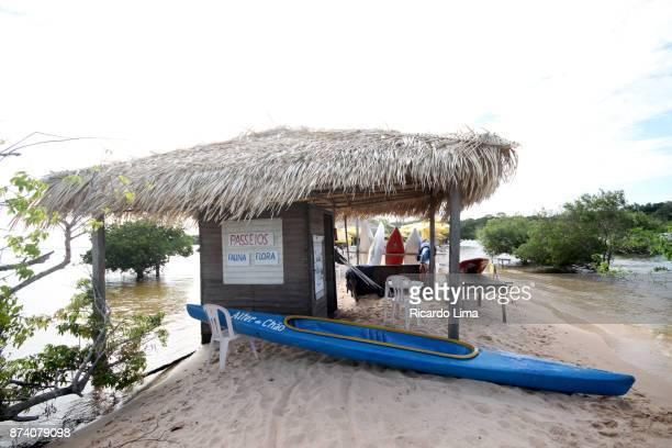 Hut In Alter do Chao Beach