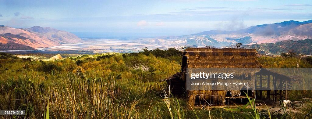 Hut In Mountains : Foto stock
