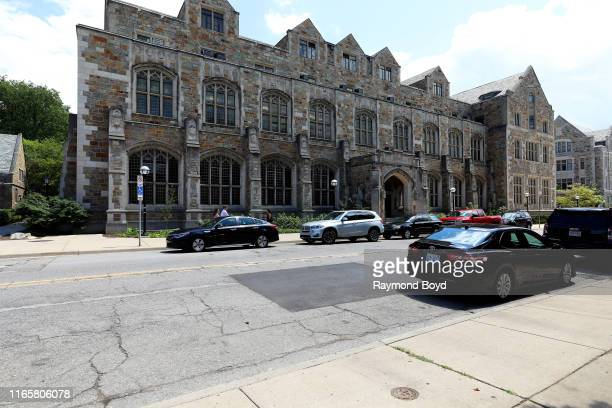 Hutchins Hall at the University Of Michigan in Ann Arbor Michigan on July 30 2019