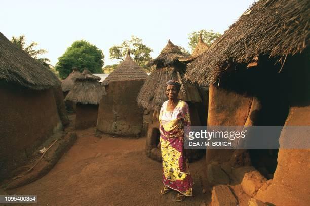 Huts in the village of Lassa near Kara Togo