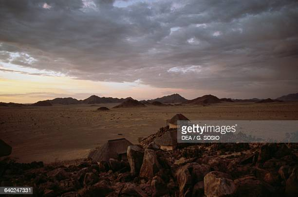 Huts Sossusvlei Wilderness Camp NamibNaukluft National Park Namib Desert Namibia