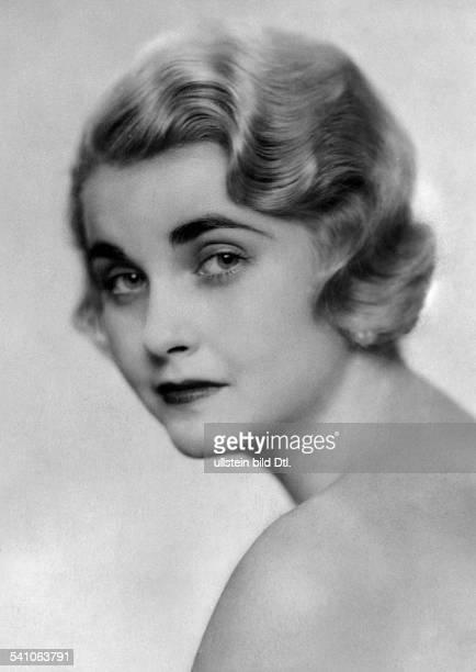Hutton Barbara *KaufhausErbin USA Portrait 1933 veroeffentlicht Uhu 6/1933