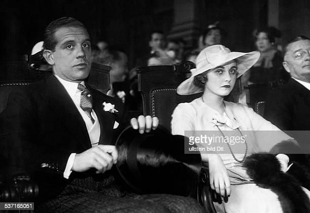 Hutton Barbara KaufhausErbin USA mit ihrem Mann dem Prinzen Alexis Mdivani 1933 veroeffentlicht Tempo 2161933
