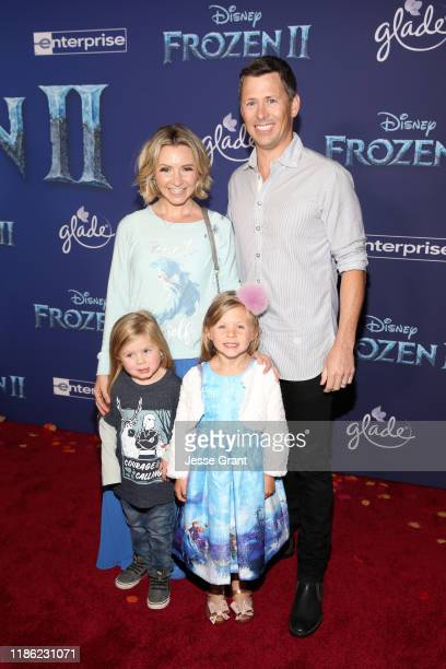 Hutton Michael Cameron Beverley Mitchell Kenzie Cameron and Michael Cameron attend the world premiere of Disney's Frozen 2 at Hollywood's Dolby...