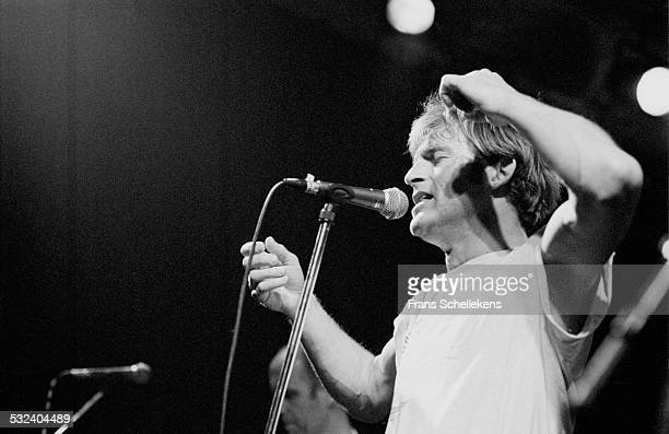 Huub van der Lubbe performs with De Dijk on March 24th 1997 in Amsterdam, Netherlands.
