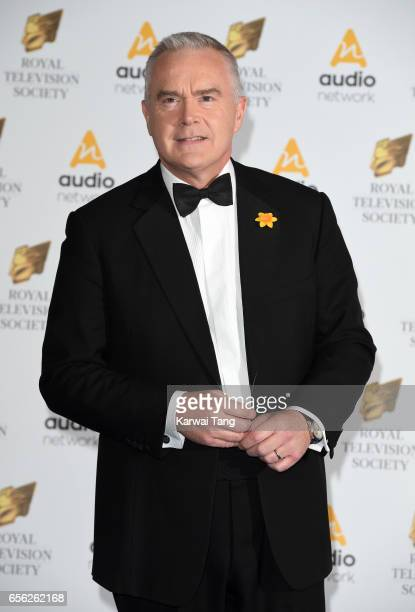 Huw Edwards attends the Royal Television Society Programme Awards at the Grosvenor House on March 21 2017 in London United Kingdom