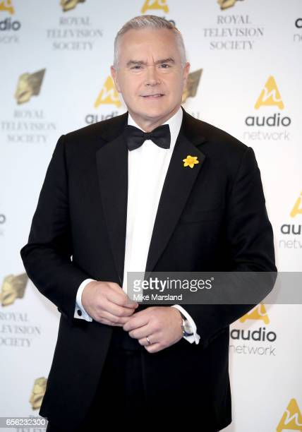 Huw Edwards attends the Royal Television Society Programme Awards on March 21 2017 in London United Kingdom