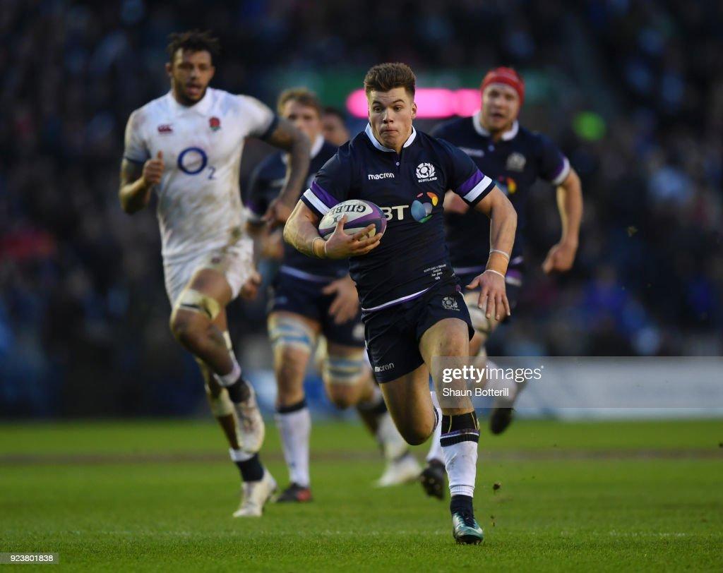 Scotland v England - NatWest Six Nations : News Photo