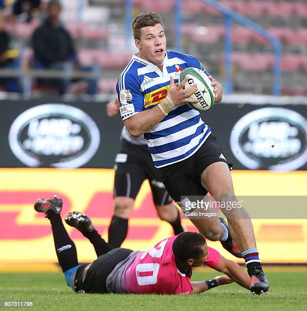Huw Jones of Western Province during the Currie Cup match between DHL Western Province and Steval Pumas at DHL Newlands on September 17, 2016 in Cape...