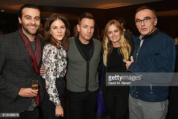 Huw Parmenter Morgane Polanski Ewan McGregor Cressida Bonas and Danny Boyle attend the exclusive prerelease screening of Ewan McGregor's directorial...