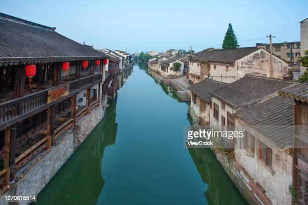 huzhou nanxun town in zhejiang province - zhejiang foto e immagini stock