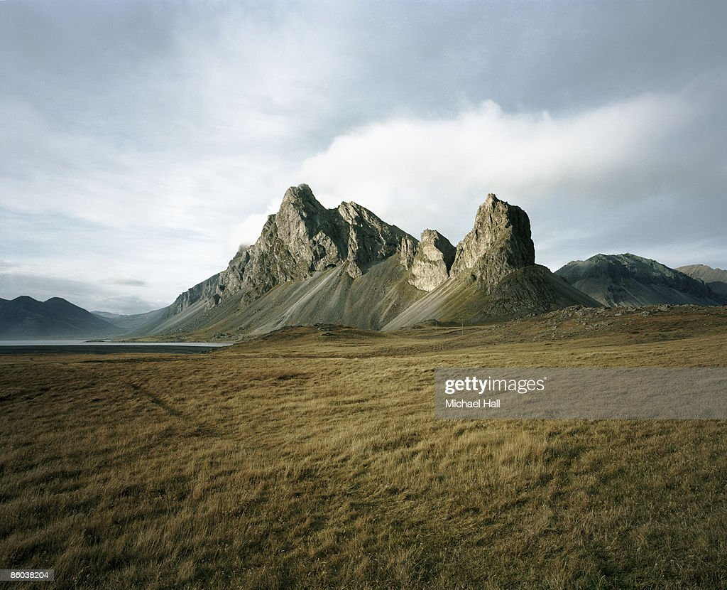 Hvalnes, East Iceland : Stock Photo