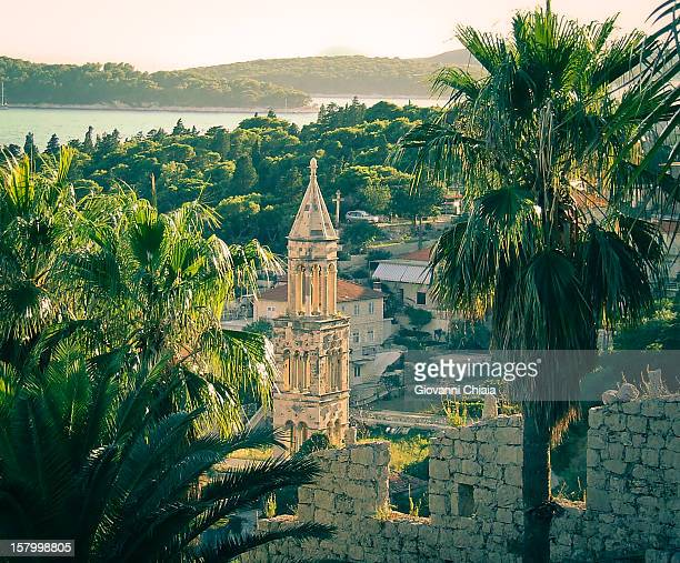 hvar, croatia - hvar stock photos and pictures
