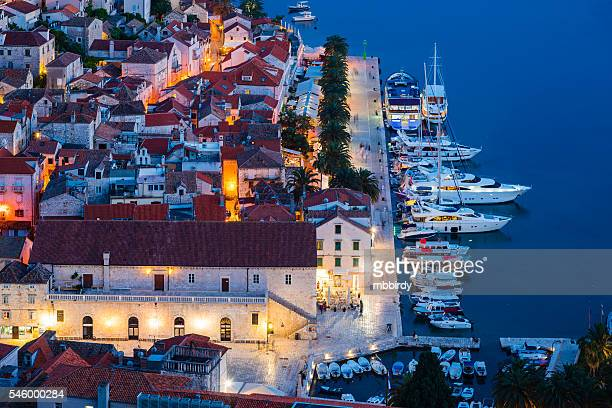 Hvar town on Hvar island, Croatia