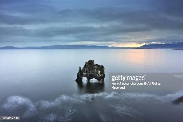 Hvítserkur Rock Formation in Iceland