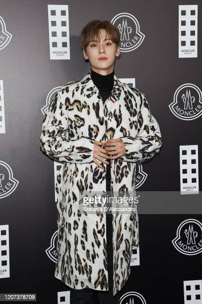 Hwang MinHyun attends the Moncler fashion show on February 19 2020 in Milan Italy