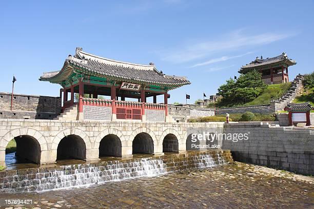 華城ノースゲート、水原、韓国 - 水原市 ストックフォトと画像
