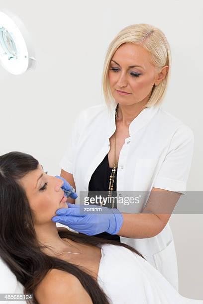 Hyaluronan injection