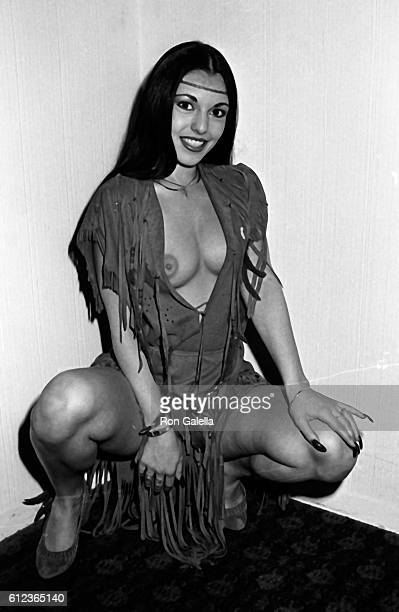Hyapatia Lee attends Eighth Annual Erotic Film Awards on March 14 1984 at the Ambassador Hotel in Los Angeles California