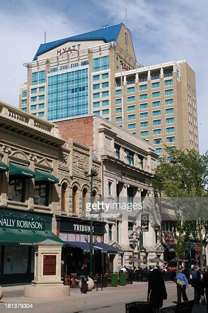 Hyatt Hotel, Calgary, Alberta, Kanada, Nordamerika, Haus, Gebäude, Reise,