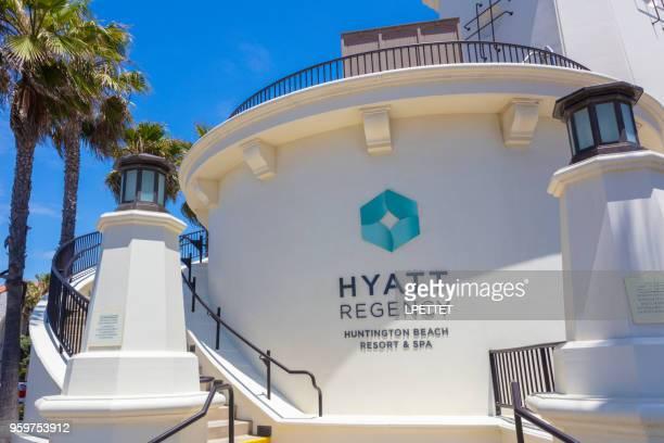 hyatt regency - huntington beach - california - huntington beach stock pictures, royalty-free photos & images