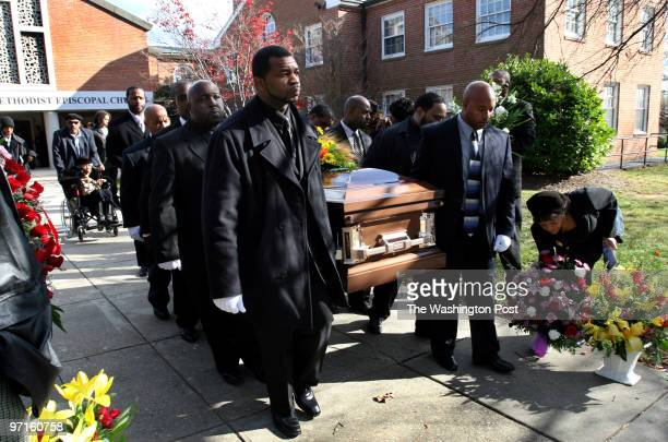 Hyattsville MD Funeral for Sean Nicholas Green a national security worker who was gunned down last week at a sto light near Oxon Hill Green was shot...